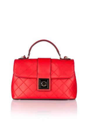 Embroiderer leather bag