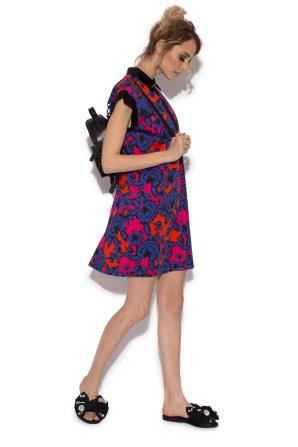 Multicoloured short sleeved dress