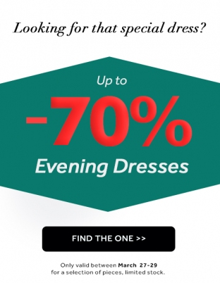 Sales 70% Evening Dresses