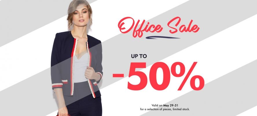 office sale pana la 50% off