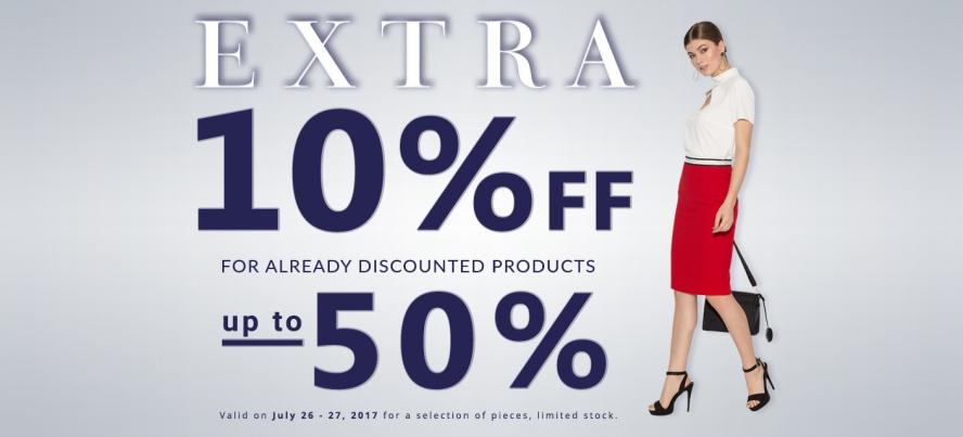 extra 10 pentru 50%