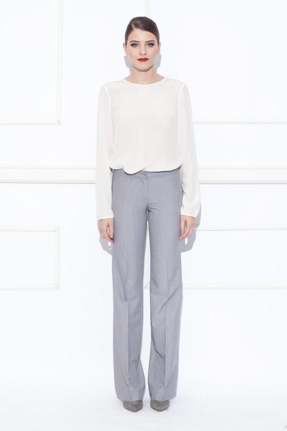 Straight shaped pants
