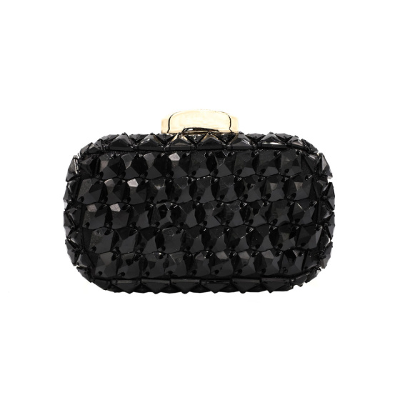 Clutch with stone details