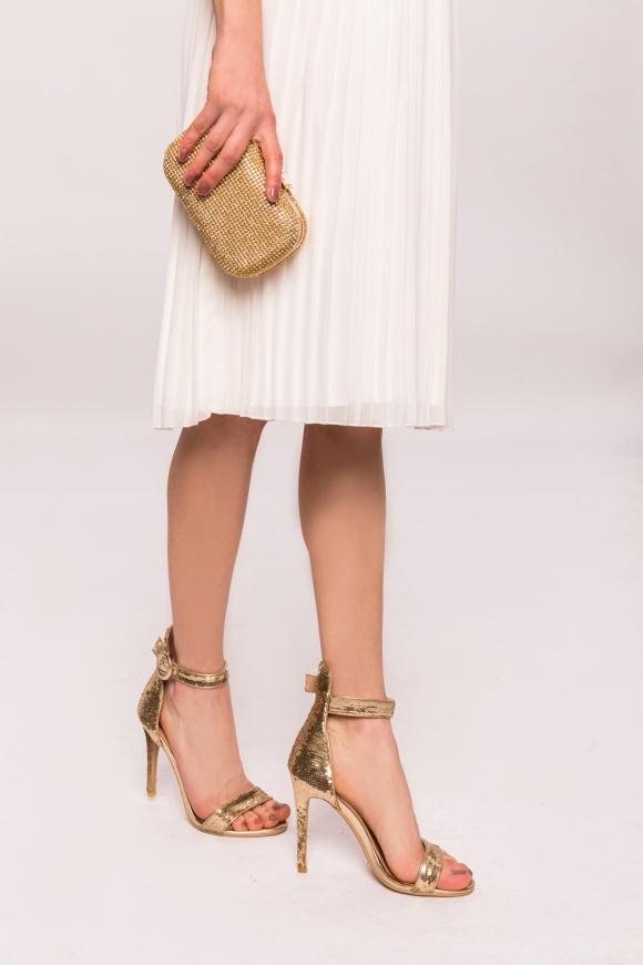 Sandale elegante cu paiete
