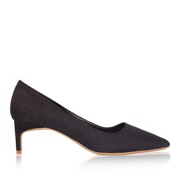Pantofi stiletto cu toc scurt