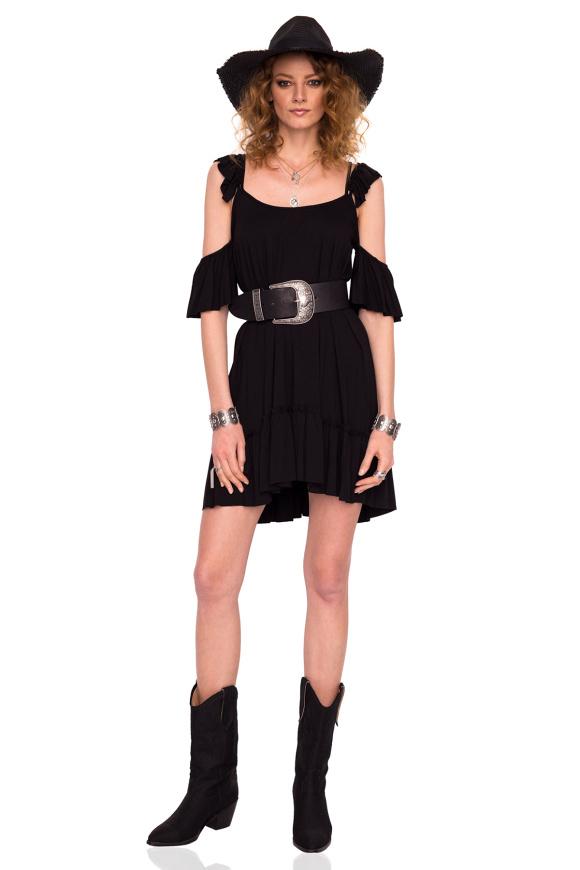 Off the shoulder loose dress