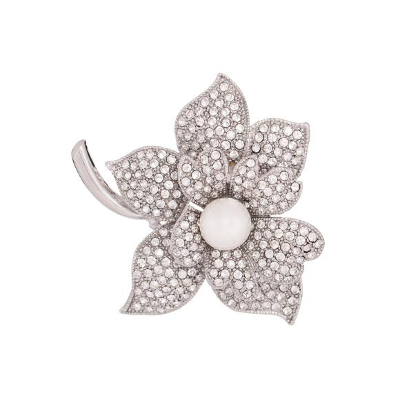 Brosa eleganta cu design floral