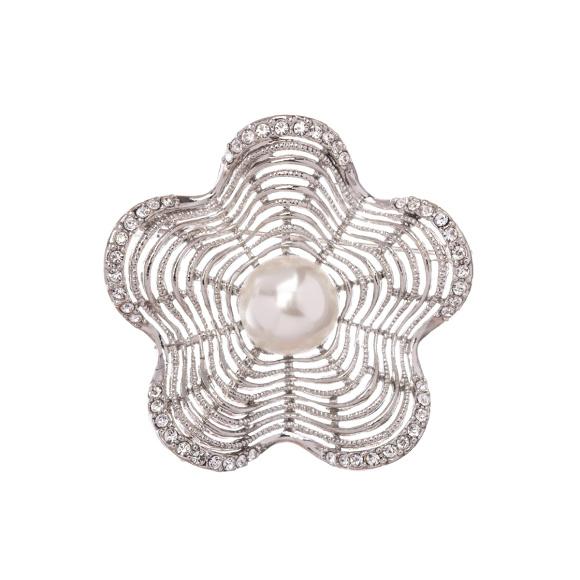 Brosa eleganta cu dtaliu tip perla