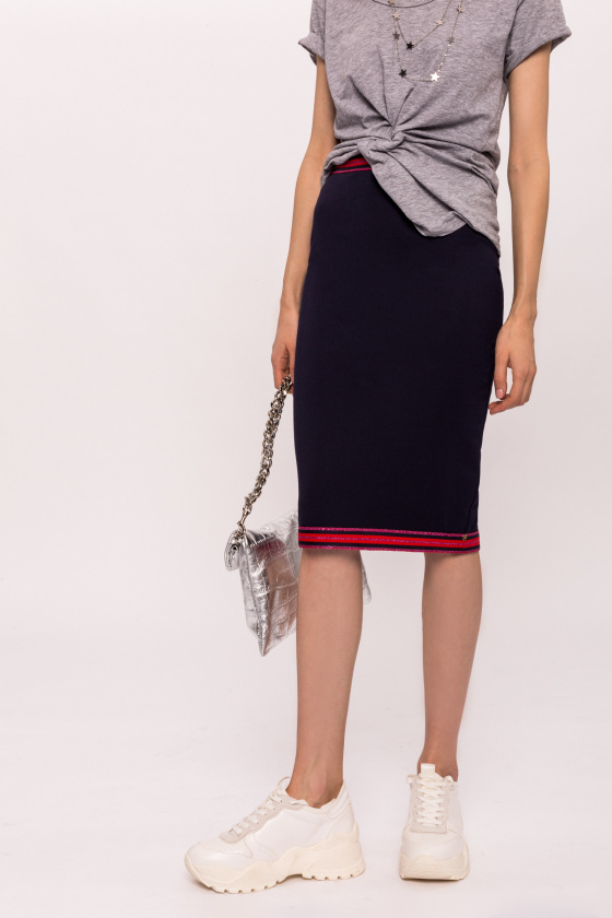 Contrasting colors skirt