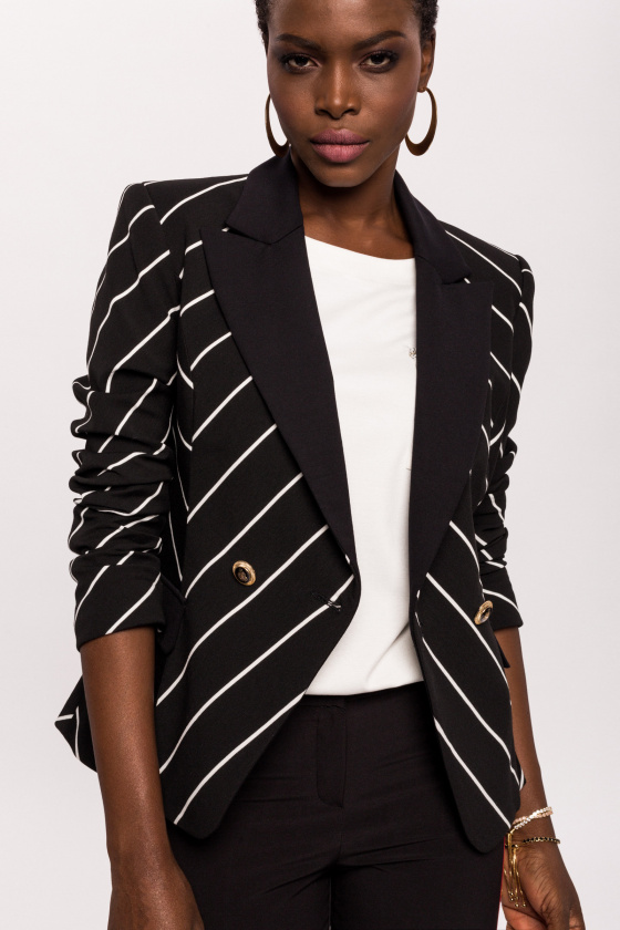 Office jacket with special details