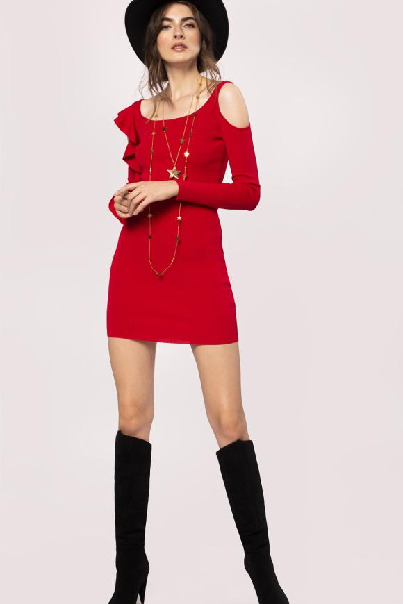 Body-con elastic dress