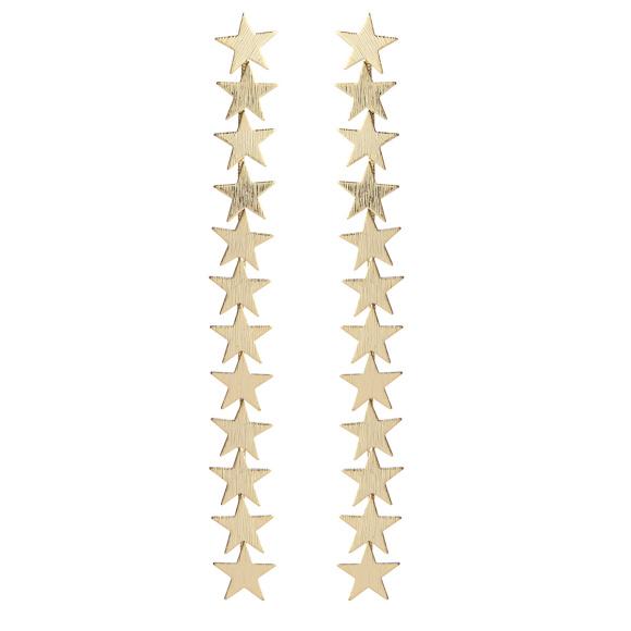 Cercei sirag cu stele
