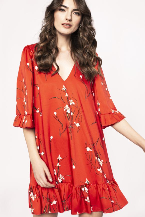 Rochie cu print floral