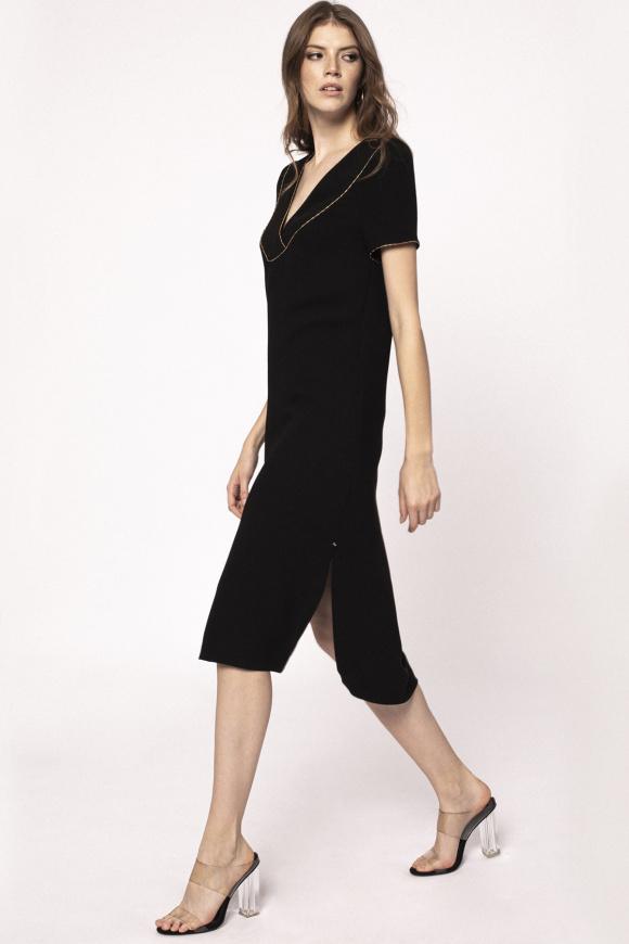 Rochie cu crapaturala laterala