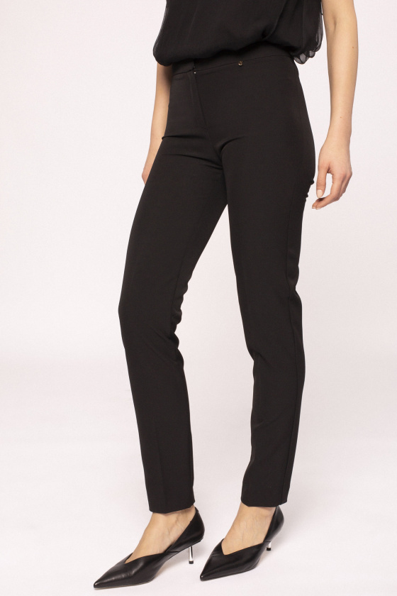 Slim office pants