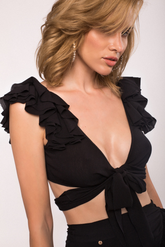 Viscose crop top