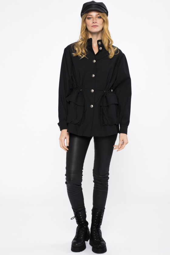 Pockets cotton jacket