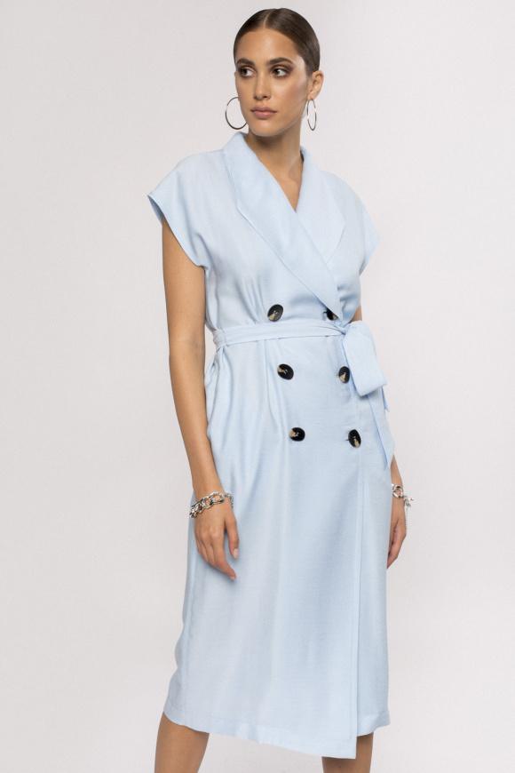 Rochie din vascoza cu cordon