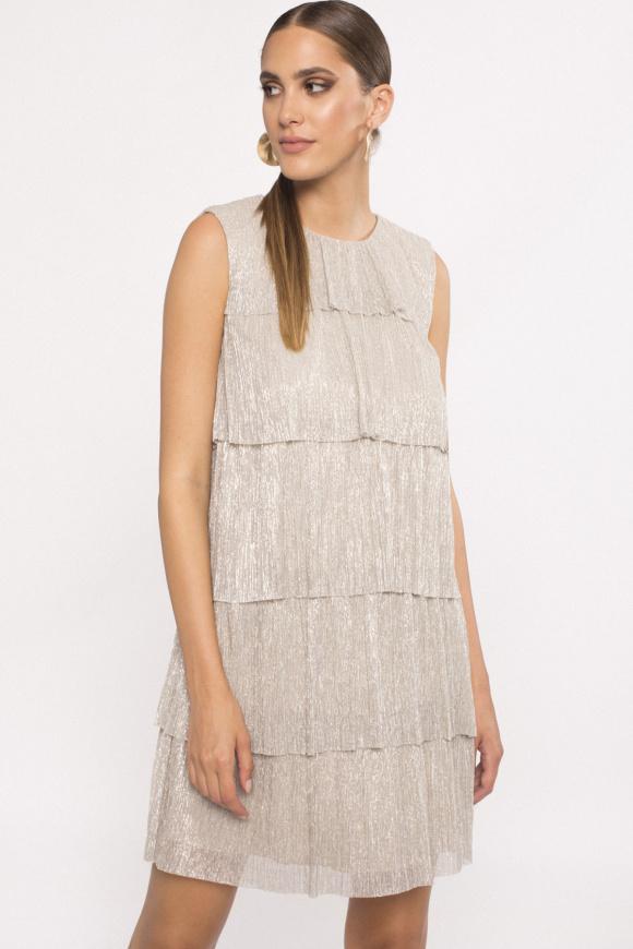 Ruffled design dress