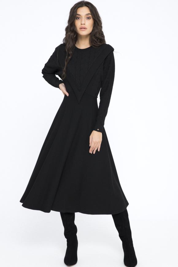 Rochie midi din tricotaj