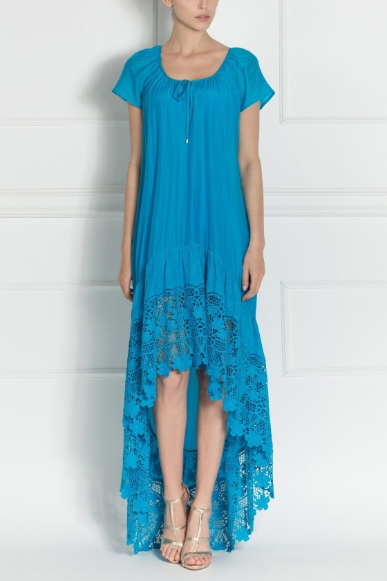 Maxi dress with delicate straps