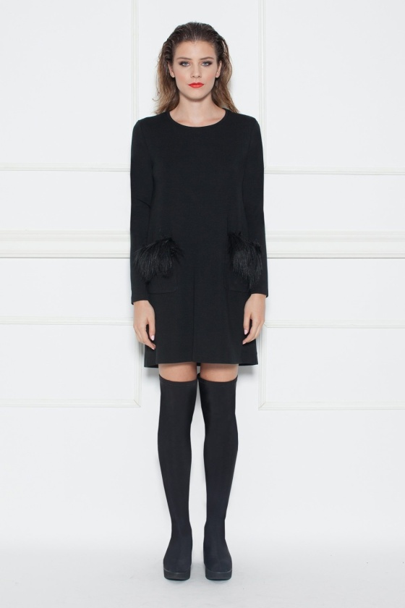 H-line day dress
