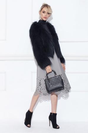 Clos skirt with cutouts
