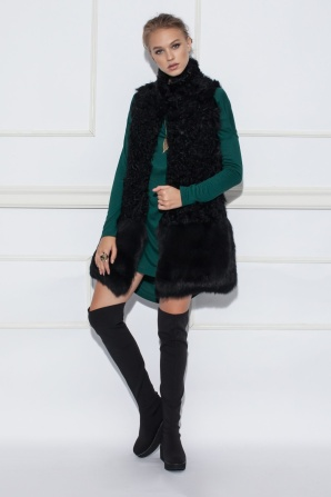 Asymmetric casual dress