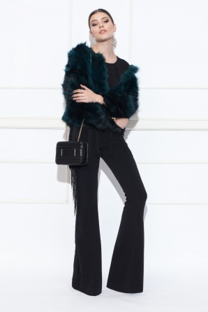 Real fur jacket