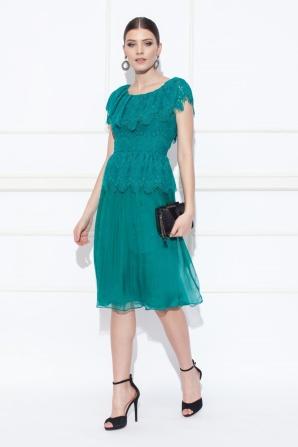Rochie de seara midi eleganta