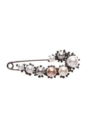 Pearls brooch