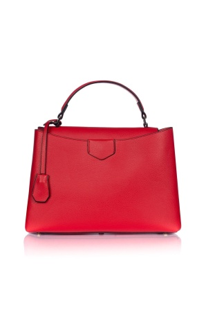 Red office purse