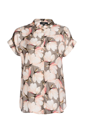 Roses print shirt