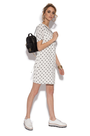 Polka dots casual dress