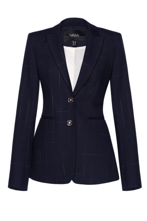 Classic cut office jacket