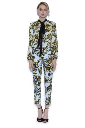 Versatile top cu floral print