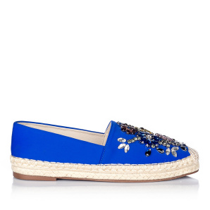 Glamorous colorful espadrilles