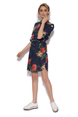 Rochie camasa cu print floral