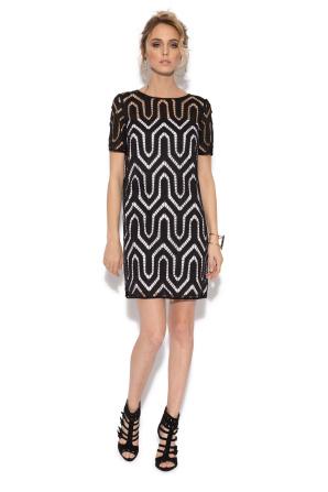 Ghipura lace casual dress
