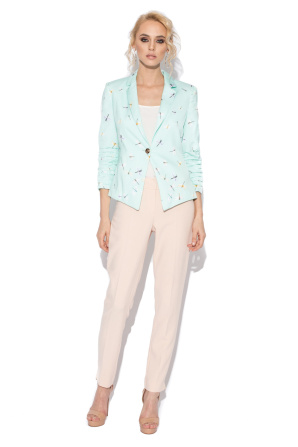 Casual jacket with print