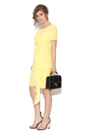Casual dress with bow detail