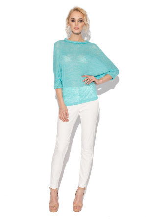 Casual light blue top