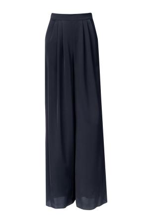 Wide leg versatile trousers