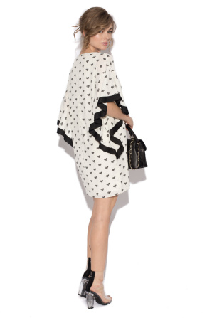 Polka dots day dress