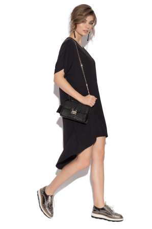 Asymmetrical loose dress