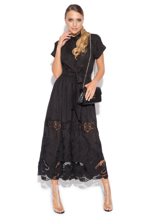 Ghipura lace dress
