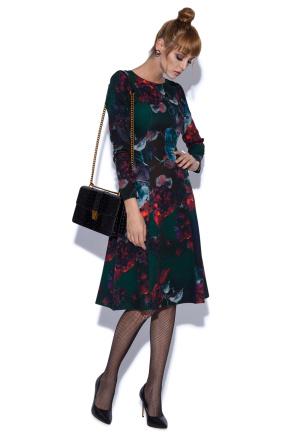 Rochie cu imprimeu vibrant