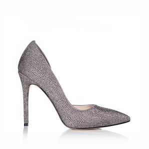Stilettos with sparkling details
