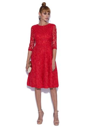 Cloche lace dress