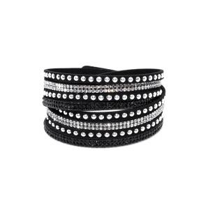 Bracelet with shiny details
